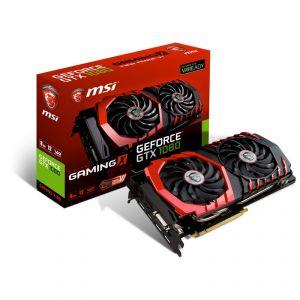MSI GTX1080-GAMINGX-8G - Carte Graphique GeForce GTX 1080 Gaming X 8 Go