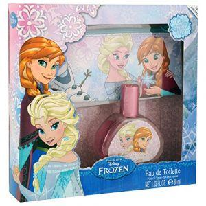 La Reine des Neiges Frozen - Coffret eau de toilette et trousse