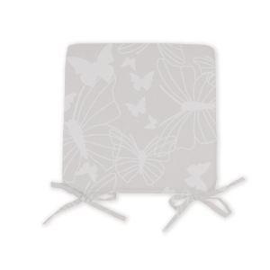 Soleil d'Ocre Dessus de chaise Papillon en polyester (40 x 40 cm)