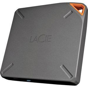 "Lacie 9000464EK - Disque dur externe Fuel 2 To 2.5"" WiFi USB 3.0"