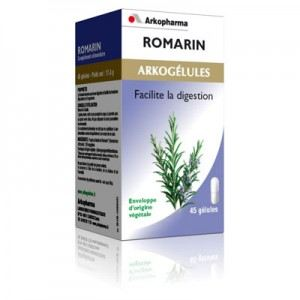 Arkopharma Arkogélules Romarin - Facilite la digestion