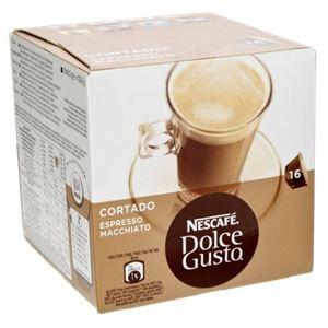 Nescafe 16 capsules Dolce Gusto Cortado