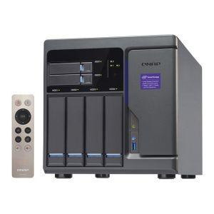 Qnap TVS-682T-i3-8G - Serveur NAS 4 Baies Gigabit Ethernet
