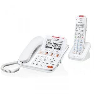 Alcatel XL650 Combo Voice - Combiné téléphone filaire + combiné sans fil avec répondeur