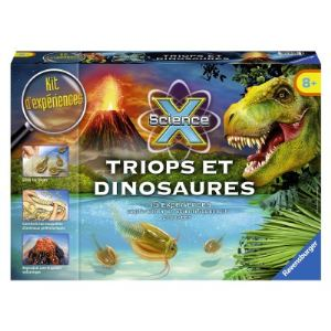 Ravensburger Maxi science X : Triops et dinosaures