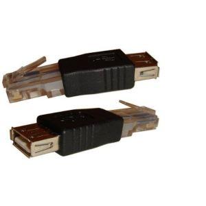 Adaptateur ADSL USB Femelle vers RJ45 M/M