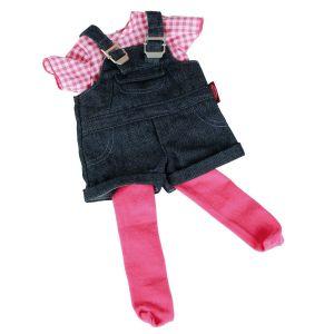 Gotz Salopette jean avec collants pour poupée (42-50 cm)