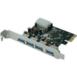 Digitus DS-30221 - Carte 4 ports USB 3.0 PCI-E 2.0