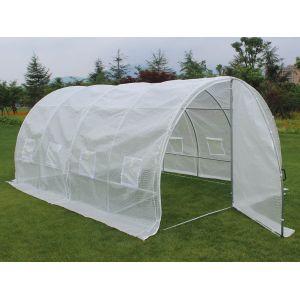 serre de jardin tunnel 12m2 comparer 74 offres. Black Bedroom Furniture Sets. Home Design Ideas