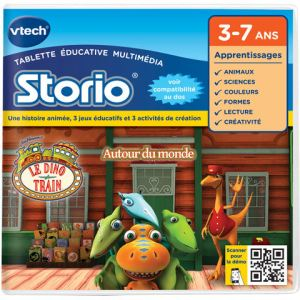 Vtech Jeu tablette Storio 2 : Le Dino Train