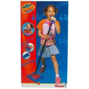 Simba Toys My Music World microphone sur pied
