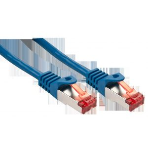 Lindy 47358 - Câble réseau Basic Cat.6 S/FTP bleu 10m