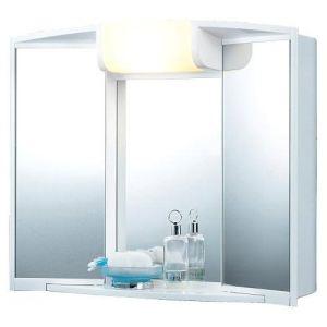 Jokey Armoire de toilette Angy éclairée avec miroir