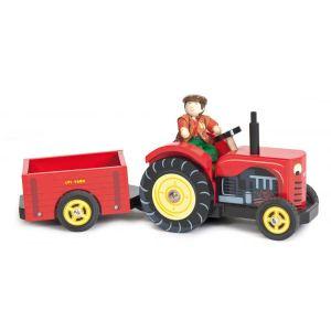 Le Toy Van Le tracteur de Bertie en bois
