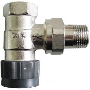 Oventrop 1183764 - Corps de robinet équerre 15x21 DN15 série AV6 à préréglage raccordement fileté M30x1.5 capuchon de protection blanc