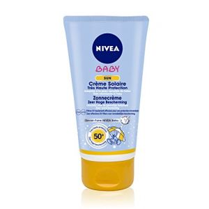 nivea baby sun cr me solaire tr s haute protection fps50 75 ml comparer avec. Black Bedroom Furniture Sets. Home Design Ideas