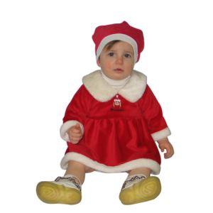 Déguisement Mère Noël bébé (3-12 mois)