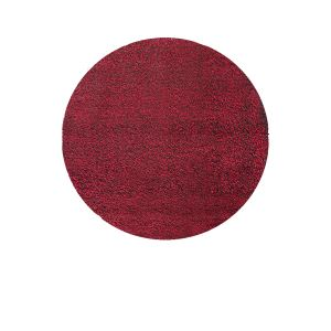Esprit home Cosy Glamour - Tapis shaggy rond (120 cm)