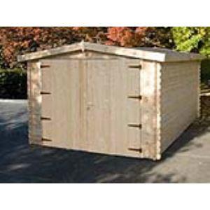 Chalet et Jardin Épervier - Garage en bois 34 mm 12,96 m2