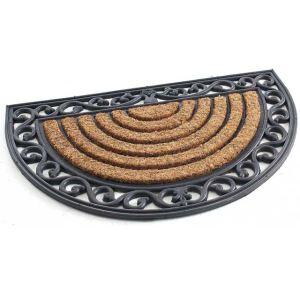 Adys Paillasson demi lune en fibre coco et caoutchouc (45 c 75 cm)