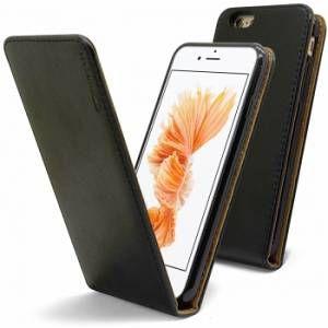 CaseInk CLAPETCUIRITALI6 - Étui Italia Flip pour Apple iPhone 6 / 6s