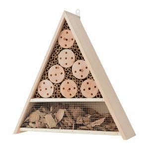 Hôtel à insectes triangle