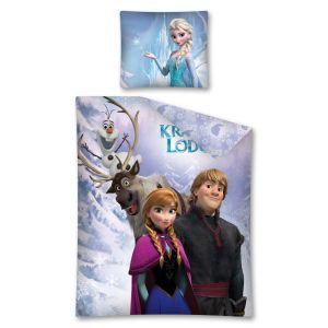 La Reine des Neiges Disney - Housse de couette et taie (140 x 200 cm)
