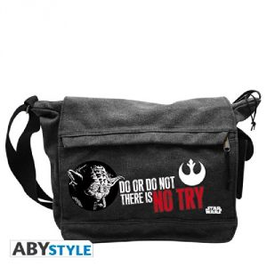 Abystyle Sac besace Yoda No Try Quote (Star Wars)