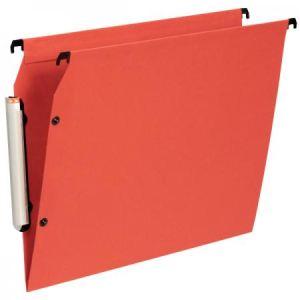 Esselte Paquet de 10 dossiers suspendus Premium pour armoire (fond : V)