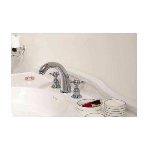 Ondyna PG11351 - Mélangeur de lavabo Parigi 3 trous