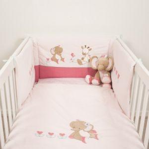 tour de lit nattou comparer 8 offres. Black Bedroom Furniture Sets. Home Design Ideas