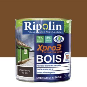 Ripolin Peinture Xpro3 Bois satin 0,5 litre