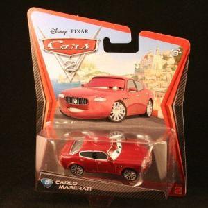Mattel Cars 2 Carlo Maserati