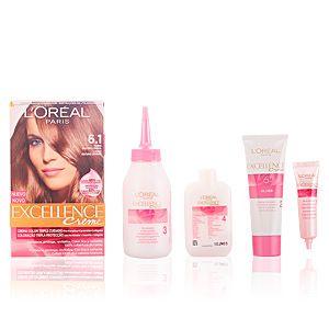L'Oréal Excellence 6.1 Blond Foncé Cendré - Crème colorante triple protection