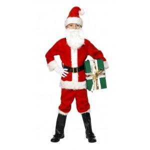 Déguisement Père Noël luxe (7-9 ans)