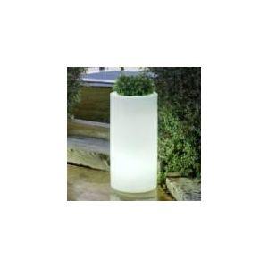 New Garden Pot de fleurs rond lumineux Palma Light Ø35 x 70 cm