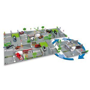 Norev T23056 - Circuit 3D modulable 6 plaques et 1 voiture