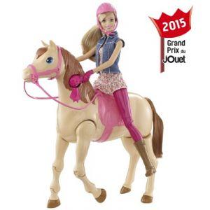 Mattel barbie hop cheval comparer avec - Barbie au cheval ...