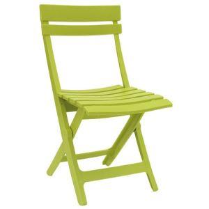 Grosfillex Chaise de jardin pliante Miami en résine