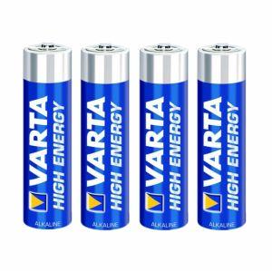 Varta 4 piles HighEnergy LR03 Micro AAA