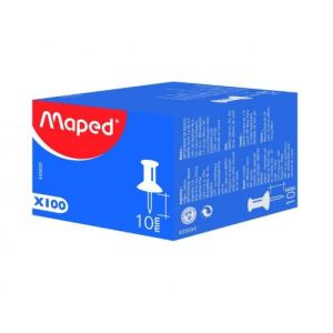 Maped 345020 2 - Epingle pour tableau d'affichage (10 mm)
