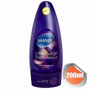 Manix Gel de massage aphrodisiaque effet chauffant