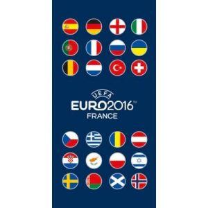 Drap de bain UEFA Euro 2016 France (70 x 120 cm)