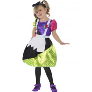 Déguisement poupée de chiffon Halloween (7-9 ans)