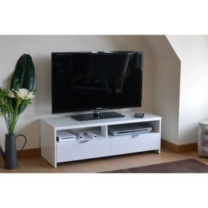 Meuble tv 110 cm comparer 252 offres for Banc tv pas cher
