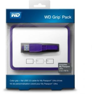 Western Digital WDBFMT0000NPL - Grip Pack (coque + câble USB 3.0) pour My Passport Ultra