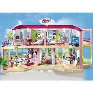 Playmobil 5265 summer fun grand h tel comparer avec for Comparateur de prix hotel