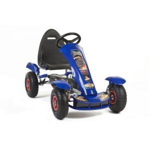 Kart à pédales Go avec roues en caoutchouc