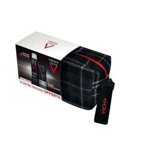 Vichy Homme Trousse + Sensi Baume 75ml + Mousse à Raser 200 ml