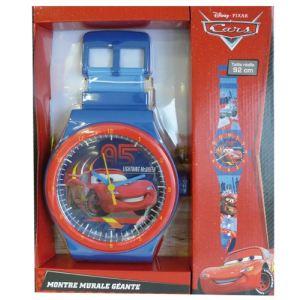 Partner jouet Horloge murale géante Cars